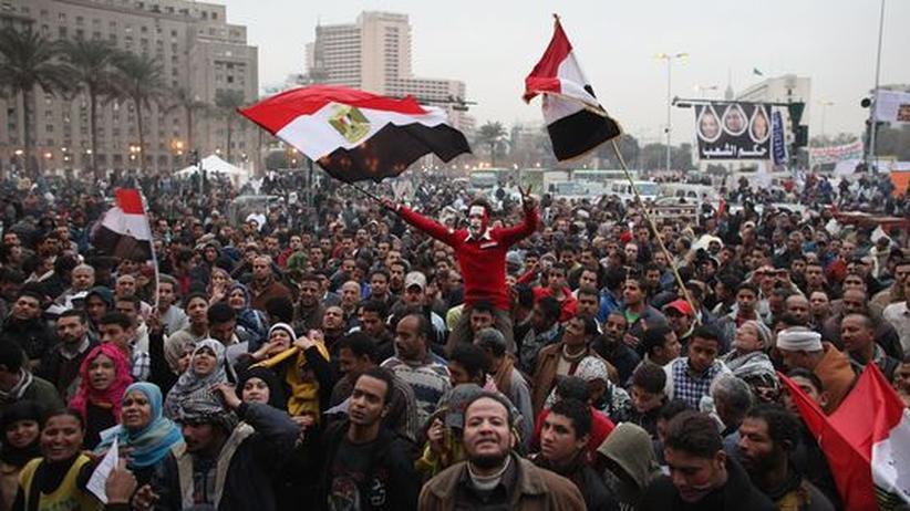 Jahrestag der Revolution: Tausende Ägypter versammeln sich auf Tahrir-Platz