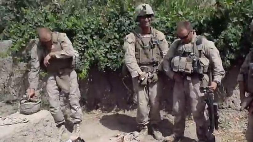 Afghanistan: US-Soldaten nach Leichenschändung identifiziert