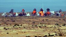 Militärübung der iranischen Revolutionsgarden