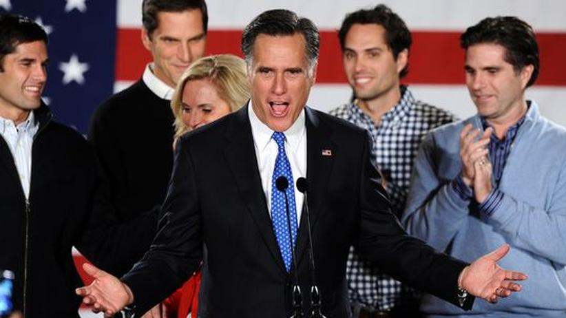 US-Vorwahl: Favorit Mitt Romney kann nicht alle Republikaner begeistern