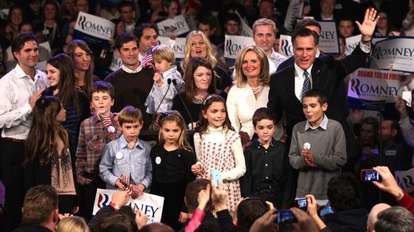 US-Vorwahlen: Romney siegt haushoch in New Hampshire