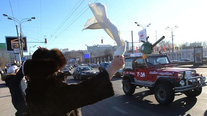 Russland: Tausende protestieren gegen Putin