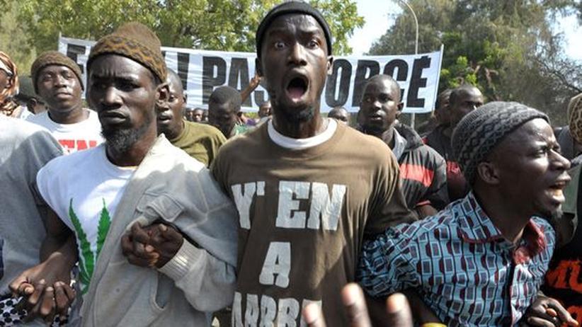 Präsidentschaftswahl: Gewaltsame Proteste gegen Senegals Machthaber