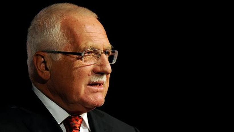 Europäische Union: Tschechiens Präsident Klaus will Fiskalpakt nicht unterzeichnen