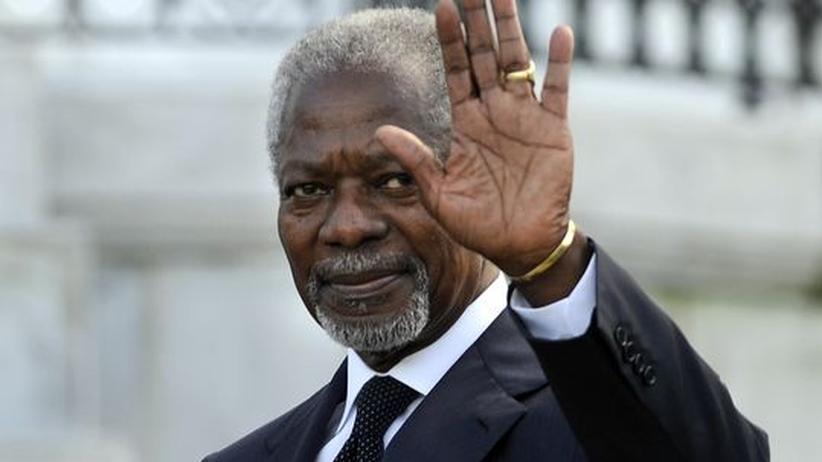 Bürgerkrieg: Kofi Annan soll Syrien befrieden