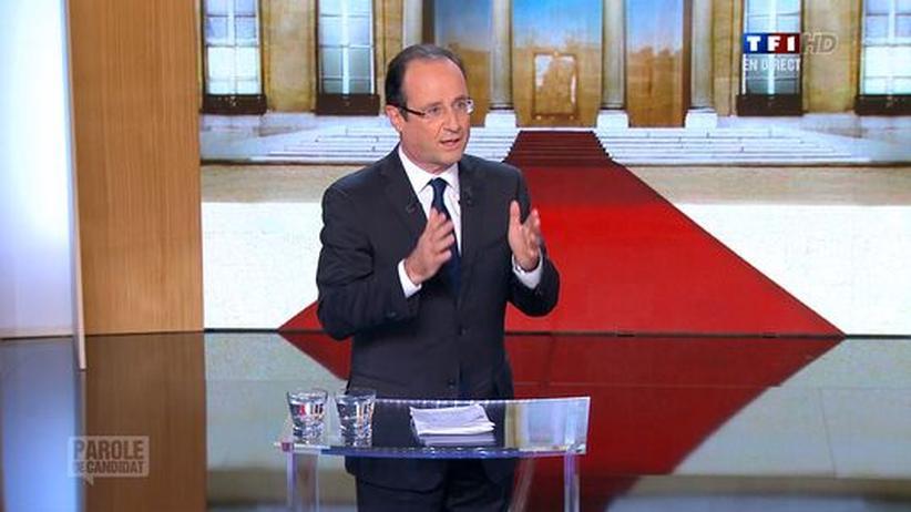 Präsidentenwahl Frankreich: Hollande will Spitzensteuersatz von 75 Prozent