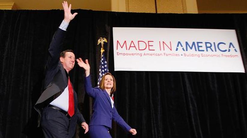 US-Vorwahlkampf: Außenseiter Santorum gelingen Überraschungssiege gegen Romney