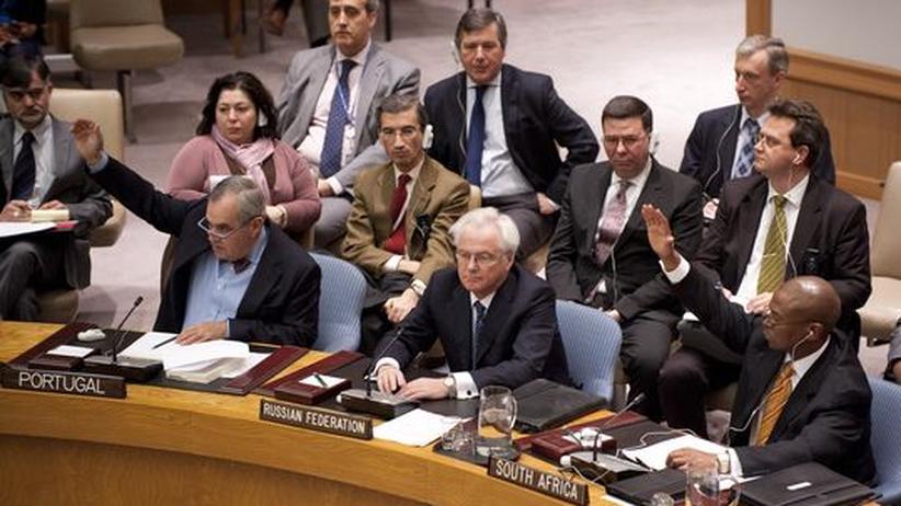 UN-Sicherheitsrat: Russland blockiert Syrien-Resolution