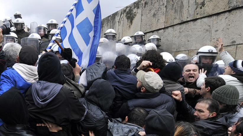Umfrage: Was sind uns die Griechen wert?