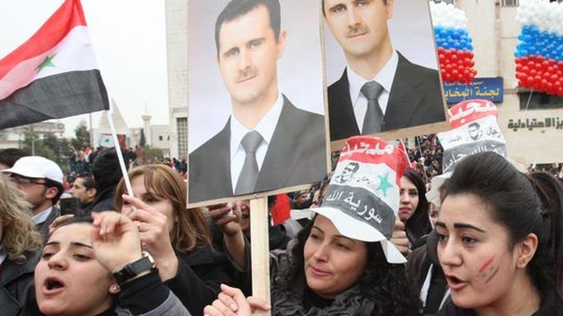 Lawrow-Besuch: Russland stärkt Syrien den Rücken