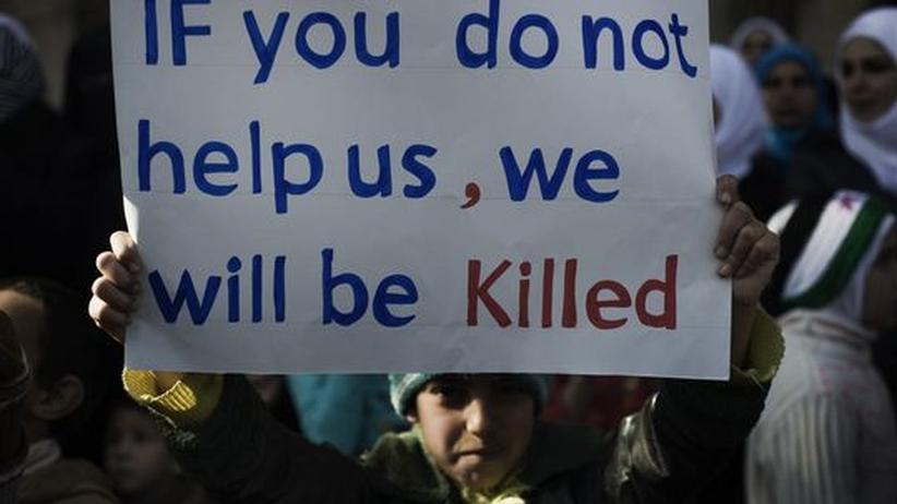 Bürgerkrieg in Syrien: Aus der Ferne das Richtige tun
