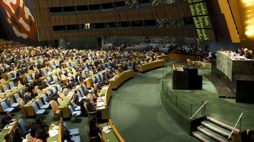 Aufstand in Syrien: UN verurteilen Damaskus mit großer Mehrheit