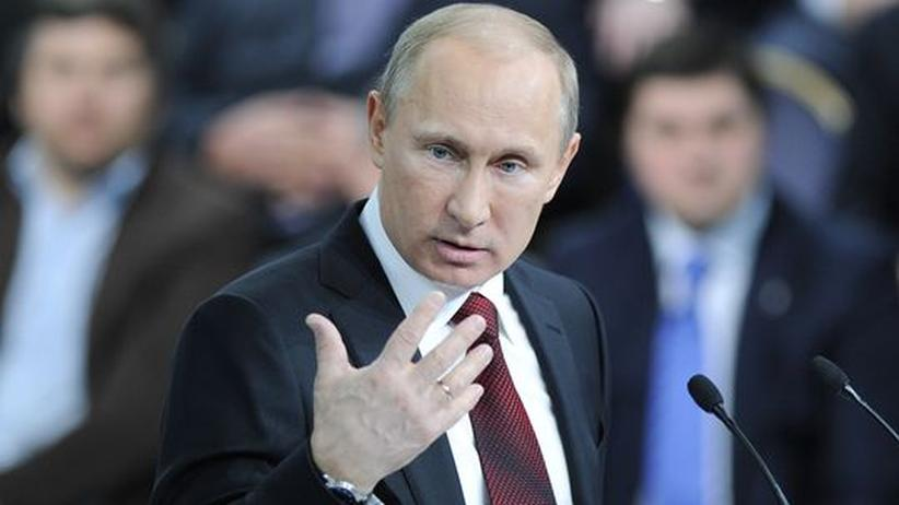 Wahl in Russland: Wladimir Putin in Moskau