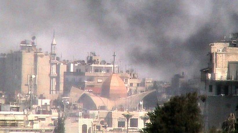 Syrien-Krieg: Erst Schmuggler, dann Schläger für das Assad-Regime