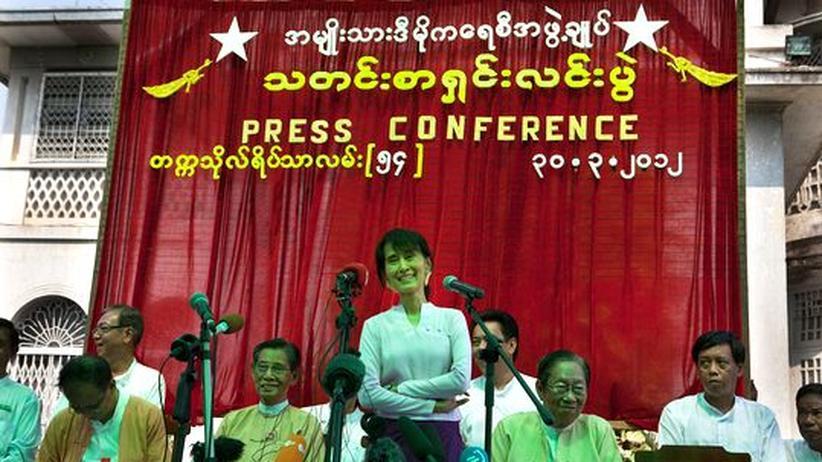 Wahl in Birma: Die Sanktionen gegen Birma beenden!