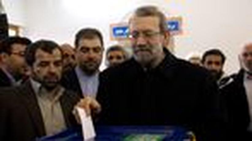 Ali Laridschani: Ganz anders als Ahmadinedschad