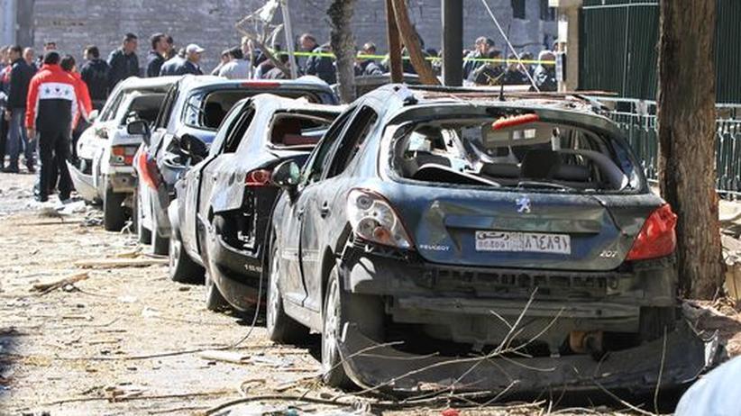 Syrien: Islamisten bekennen sich zu Attentaten in Damaskus