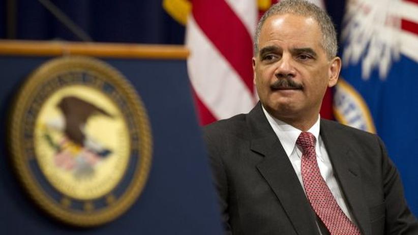 Justizminister Holder: US-Regierung rechtfertigt Tötung von Terroristen