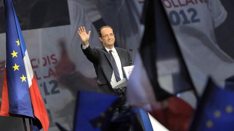 Wahlkampf in Frankreich: Merkel schmiedet Bündnis gegen Hollande