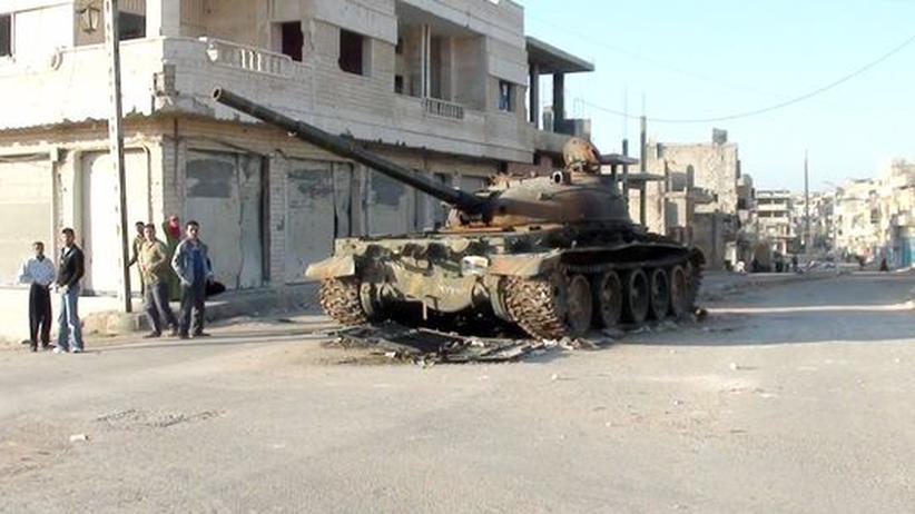 Bürgerkrieg in Syrien: Iran soll Assad mit Waffen und Giftstoffen unterstützen