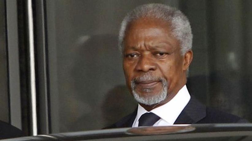 Syrien: Kofi Annan trifft mit Assad zusammen