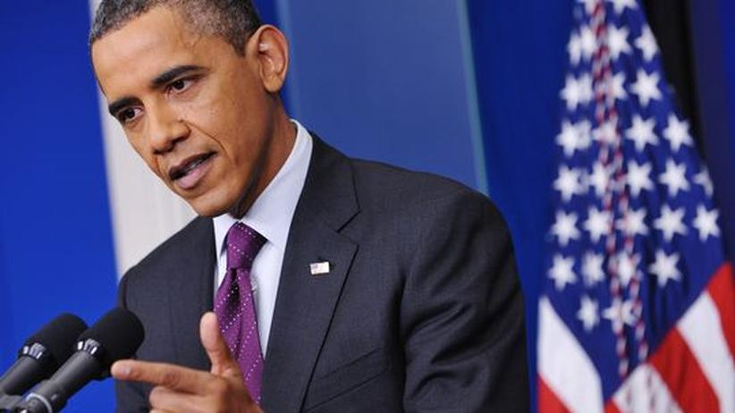 Atomstreit: Obama setzt gegenüber Iran auf Diplomatie