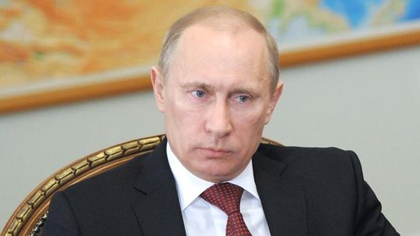 Präsidentschaftswahl: Wladimir Putin am 2. März in Moskau