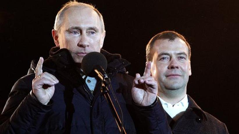 Präsidentschaftswahl: Wladimir Putin gewinnt mit deutlicher Mehrheit