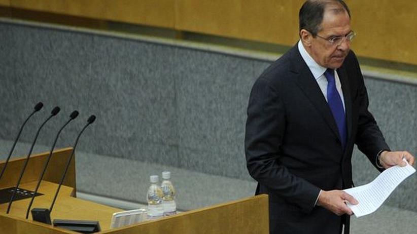 Weltsicherheitsrat: Russland nennt Bedingungen für Syrien-Resolution