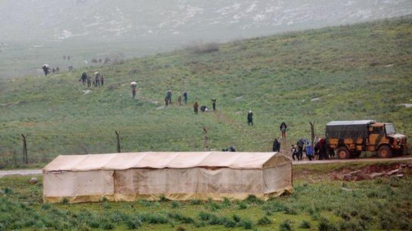 Bürgerkrieg: Türkei erwartet Tausende Flüchtlinge aus Syrien