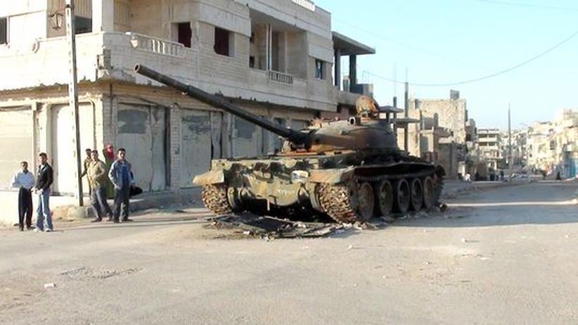 Panzer der syrischen Armee