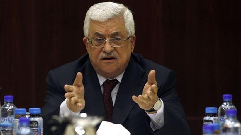 Nahostkonflikt: Abbas warnt vor eigener Machtlosigkeit