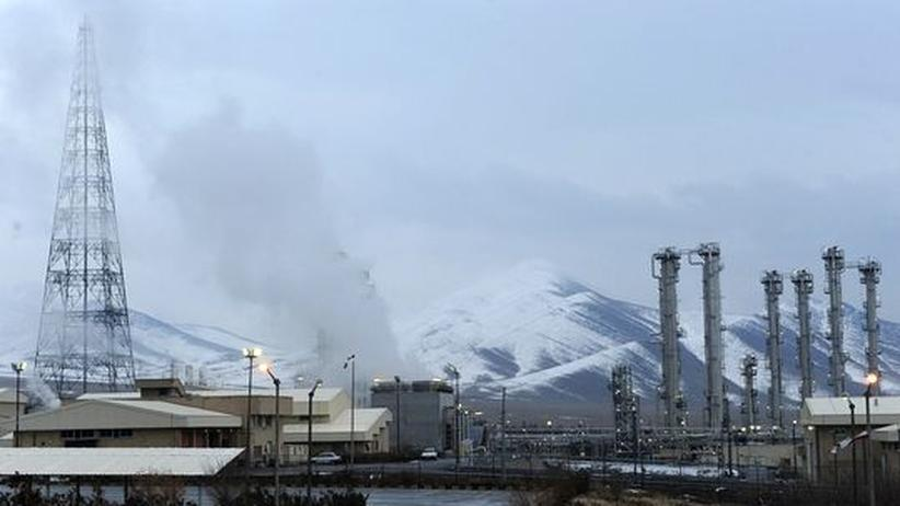 Schwerwasser-Reaktor in Arak, Iran