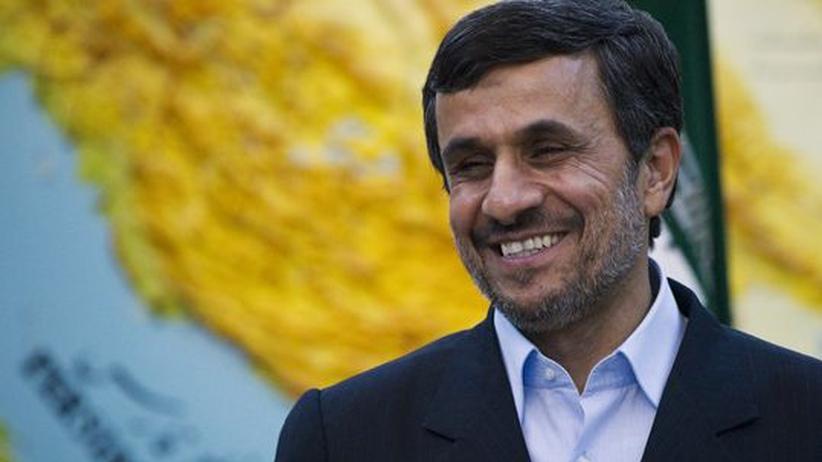Atomstreit: Irans Präsident Mahmud Ahmadinedschad