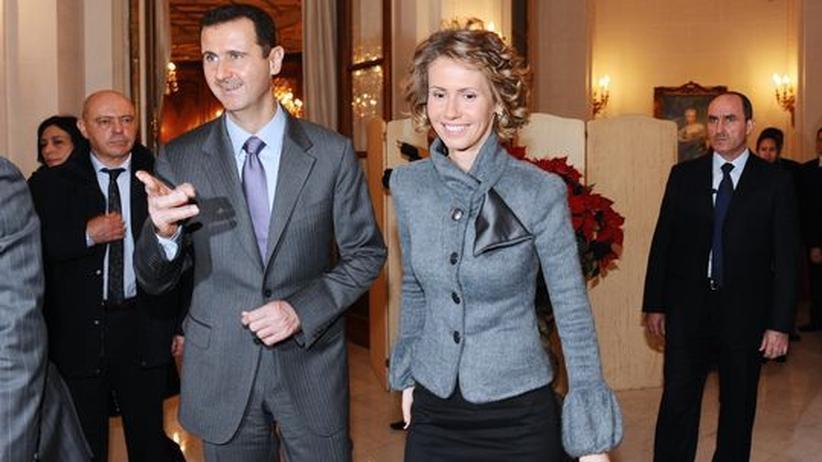 """Syrien: """"Stoppen Sie Ihren Mann""""-Petition an Frau Assad"""
