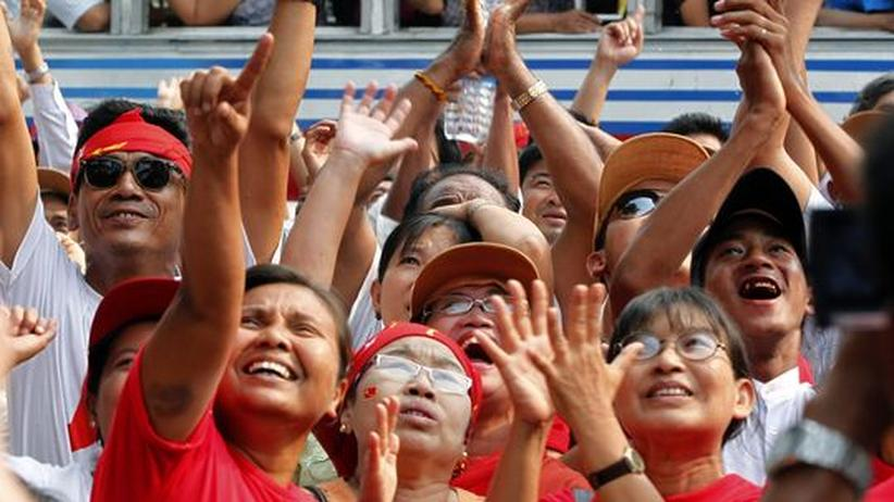 Nachwahl in Birma: Klarer Sieg für Aung San Suu Kyi