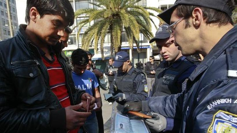 Griechenland: Stimmungsmache gegen Einwanderer