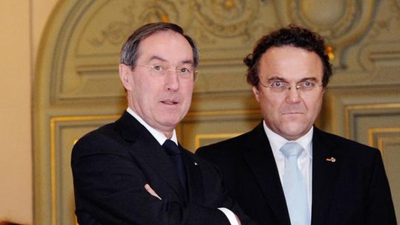 Grenzkontrollen: Die Innenminister Frankreichs und Deutschlands, Claude Guéant und Hans-Peter Friedrich