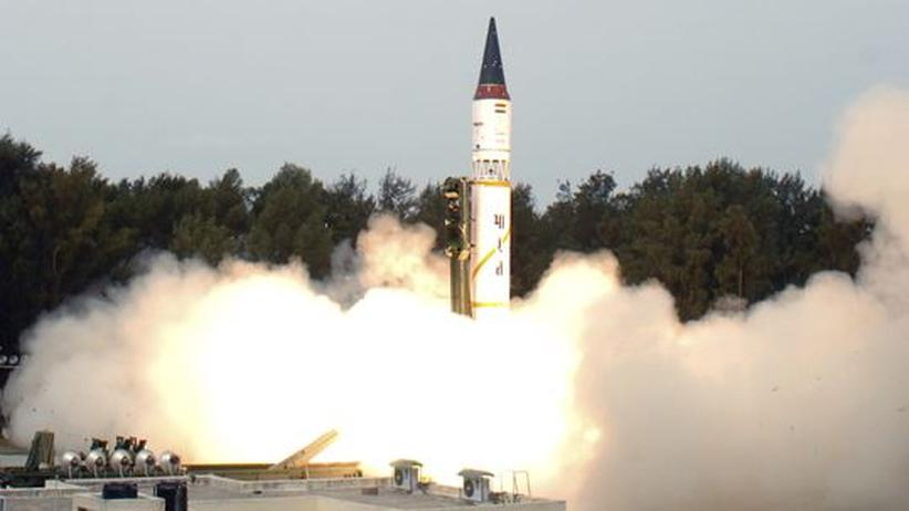 Atommacht: Indien testet atomwaffenfähige Langstreckenrakete