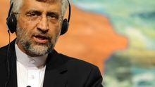 Der iranische Unterhändler Saeed Dschalili bei Verhandlungen in Istanbul