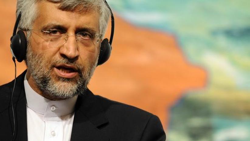 Iran-Konflikt: Der iranische Unterhändler Saeed Dschalili bei Verhandlungen in Istanbul