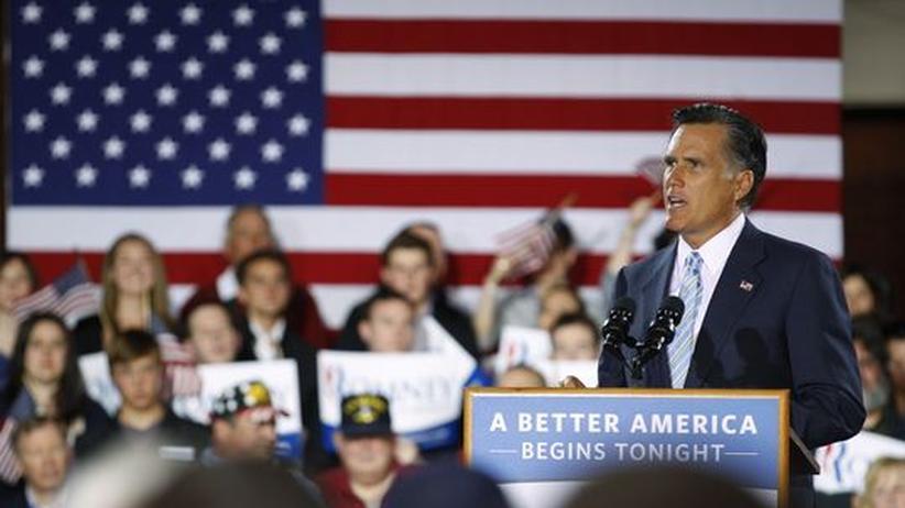 US-Wahlkampf: Romney eröffnet Wahlkampf gegen Obama
