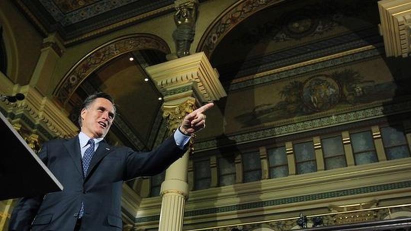 US-Vorwahlen: Romney erzielt Dreifachsieg
