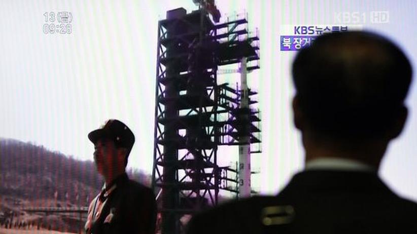 Atomkonflikt: Nordkoreas Rakete zerbricht kurz nach Start