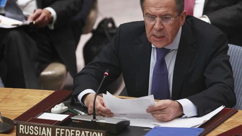 UN-Sicherheitsrat: Russland signalisiert Zustimmung zu Syrien-Erklärung