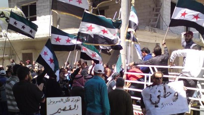 Friedensplan: UN-Beobachter treffen in Damaskus ein