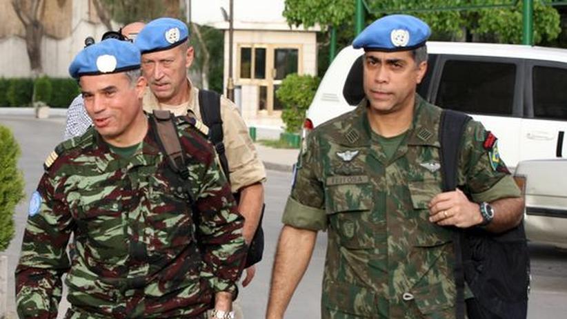 Waffenruhe: Syrien hält sich laut UN nicht an Friedensplan