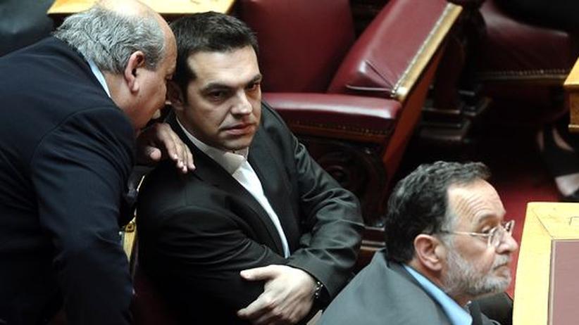 Alexis Tsipras: Griechischer Linken-Chef trifft Gysi und Ernst