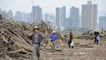 Arbeiter in Chongqing