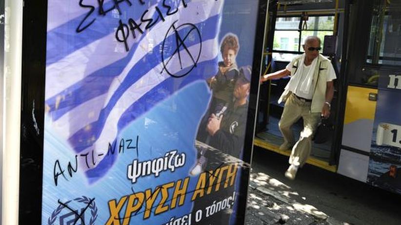 Griechenland: Von der Nazi-Truppe zur Partei der Unzufriedenen